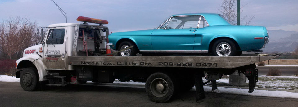 Blue Mustang Slider